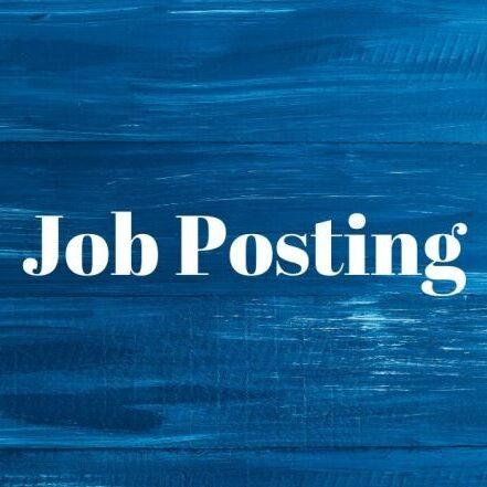 job posting blue